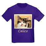 Calico Cat Kids Dark T-Shirt