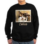Calico Cat Sweatshirt (dark)