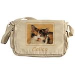 Calico Cat Messenger Bag