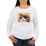 Calico Cat Women's Long Sleeve T-Shirt