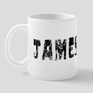 Jamestown Faded (Black) Mug