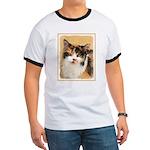 Calico Cat Ringer T