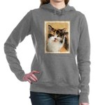 Calico Cat Women's Hooded Sweatshirt