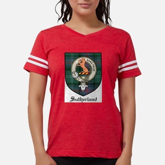 Sutherland Clan Crest Tartan White T-Shirt