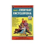 """Frig. Magnet - """"Andy's Encyclopedia"""""""