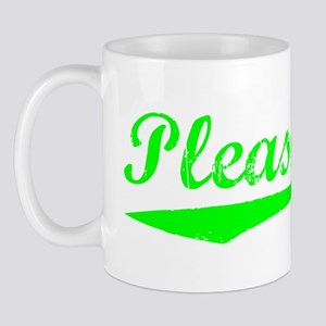 Vintage Pleasanton (Green) Mug