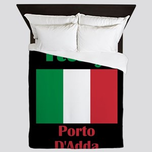 Porto D'Adda Italy Queen Duvet