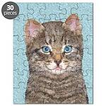 Gray Tabby Cat Puzzle