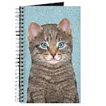 Gray Tabby Cat Journal