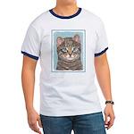 Gray Tabby Cat Ringer T