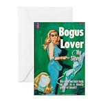 "Greeting (10)-""Bogus Lover"""