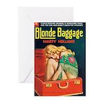 "Greeting (10)-""Blonde Baggage"""