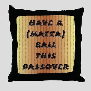 """Matza"" Ball Throw Pillow"