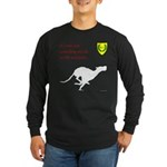 Not just Coursing Long Sleeve Dark T-Shirt