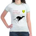 Not just Coursing Jr. Ringer T-Shirt