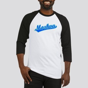 Retro Moskva (Blue) Baseball Jersey