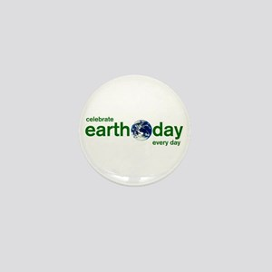 Earth Day Mini Button