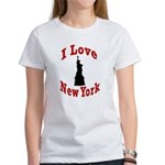 I Love New York Women's T-Shirt