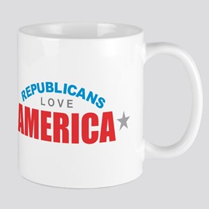 Republicans Love America Mugs