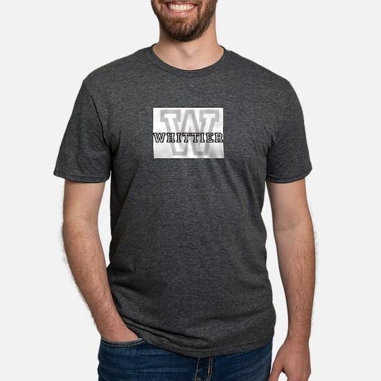 Letter W: Whittier Ash Grey T-Shirt