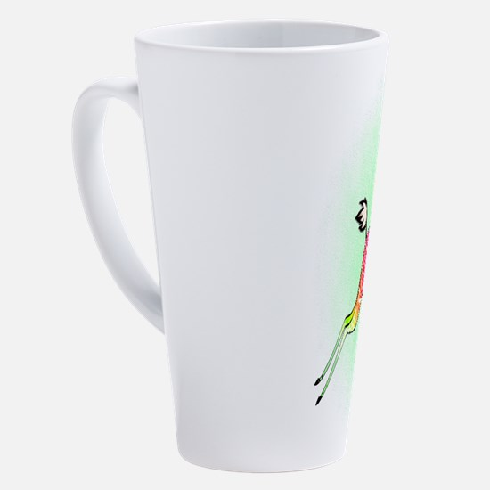 Unique Giraffes 17 oz Latte Mug