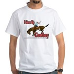 Cowboy Shirts White T-Shirt