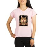 Mad Yellow Tabby Cat Performance Dry T-Shirt