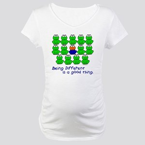 Being Different 1 (FROGS) Maternity T-Shirt