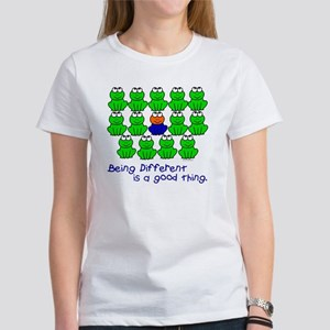Being Different 1 (FROGS) Women's T-Shirt