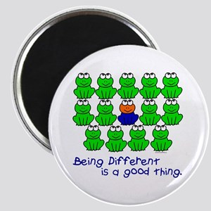 Being Different 1 (FROGS) Magnet