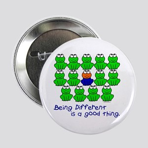 "Being Different 1 (FROGS) 2.25"" Button"
