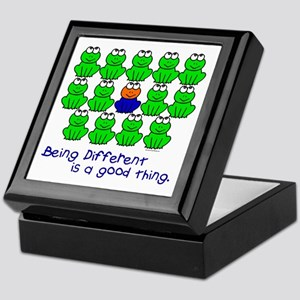Being Different 1 (FROGS) Keepsake Box