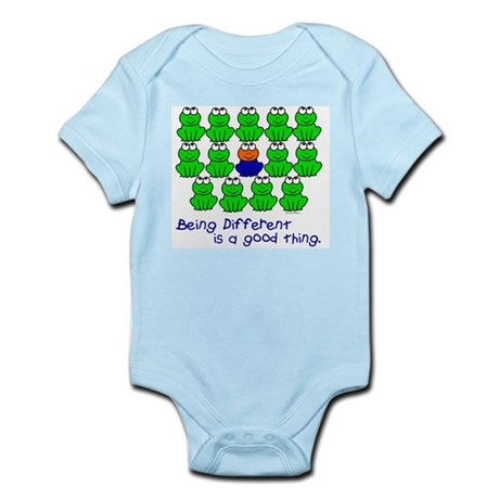 Being Different 1 (FROGS) Infant Bodysuit
