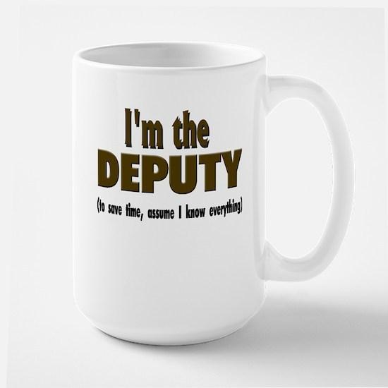 I'm the Deputy Stainless Steel Travel Mugs