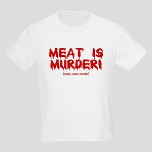 Meat Is Tasty, Tasty Murder Kids Light T-Shirt