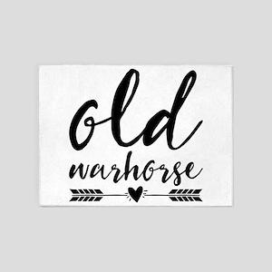 old warhorse 5'x7'Area Rug