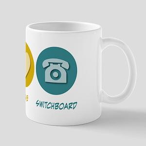 Peace Love Switchboard Mug