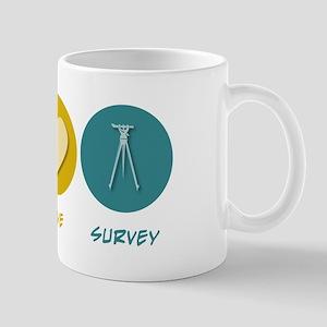 Peace Love Survey Mug