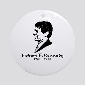 Bobby Kennedy Profile Ornament (Round)