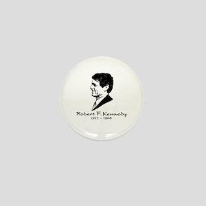Bobby Kennedy Profile Mini Button