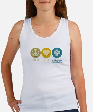 Peace Love Surgical Technology Women's Tank Top