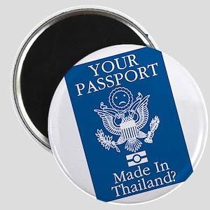 Outsourced Passport Magnet