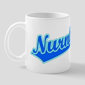 Retro Nurnberg (Blue) Mug