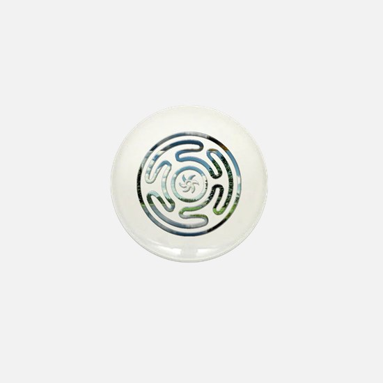 Hecate's Wheel Mini Button