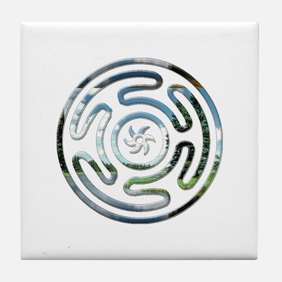 Hecate's Wheel Tile Coaster