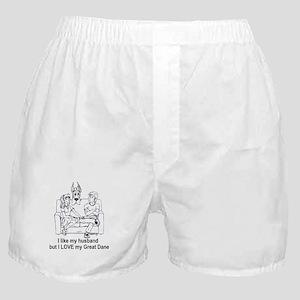 C husband Great Dane Boxer Shorts