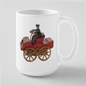 Vintage Toy Fire Engine Mugs