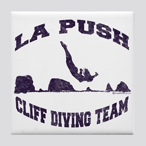 La Push Cliff Diving Team TM Tile Coaster
