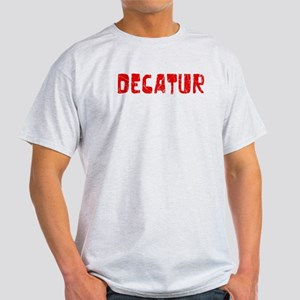 Decatur Faded (Red) Light T-Shirt