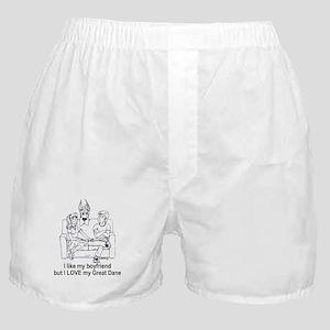 C boyfriend Great Dane Boxer Shorts